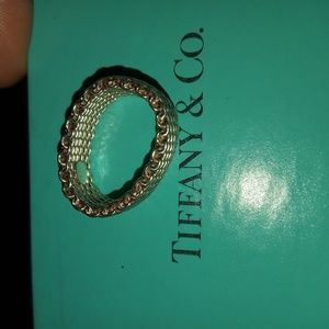 Tiffany and Co mesh ring